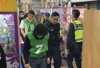 職業賭場以夾娃娃機店掩護 警員扮玩家逮31人賭資逾60萬元