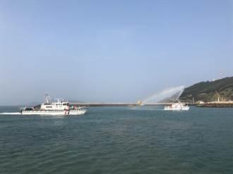 執法能量再進化 新造100噸巡防艇抵達馬祖海巡隊