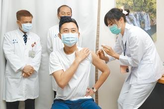 林智堅接種AZ 楊文科觀望、徐耀昌術後恢復期暫不施打