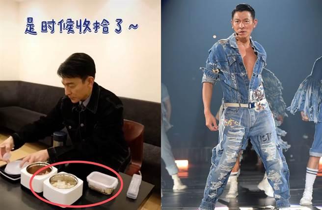 劉德華相當自律沒暴飲暴食,多年來維持結實身材。(圖/翻攝自微博、台灣映藝提供)