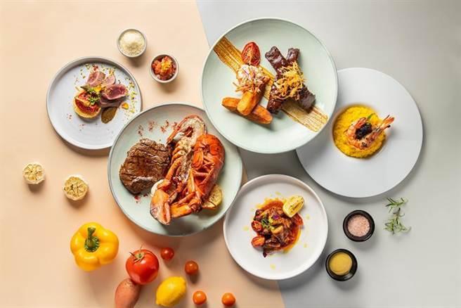 林口亞昕福朋喜來登酒店宜客樂西餐廳轉型半自助餐 美式主菜搭沙拉吧出擊 -