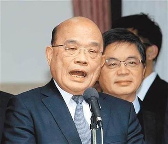 太鲁阁号列车49死,行政院长苏贞昌该下台吗?最新民调曝光。(图/本报资料照)