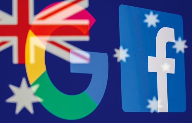 澳洲要求Google、Facebook等業者刊登新聞需付費,媒體業者呼籲政府跟進。圖/路透