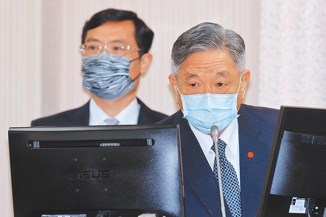 外交部次長田中光(右)明確表示,蓬佩奧今年訪台機率很大。(黃世麒攝)