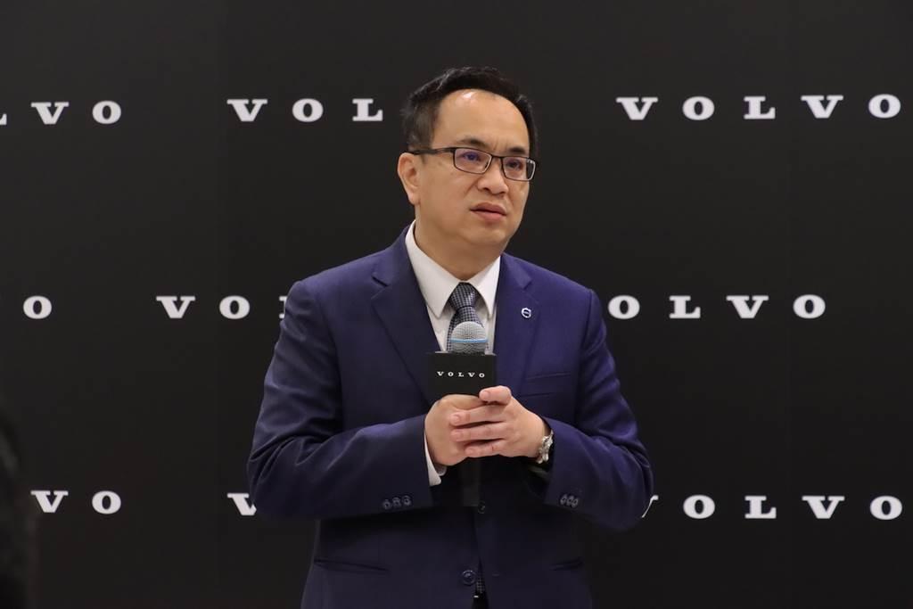 Volvo Car Taiwan 總裁陳立哲