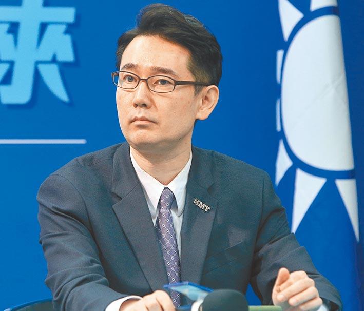 國民黨副祕書長黃奎博(本報資料照)