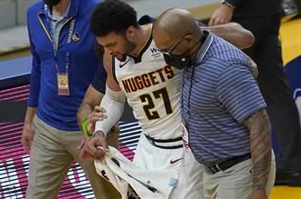 NBA》金塊大噩耗 賈瑪莫瑞左膝十字韌帶撕裂報銷
