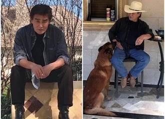獨/71歲金馬影帝露臉 愛妻氣質高貴優雅