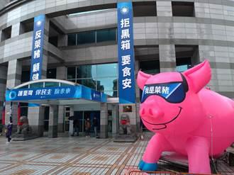 國民黨歡迎美方訪問團 強調反萊豬不反美豬