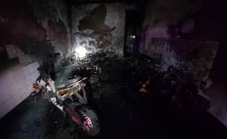 台中龍井移工宿舍竄大火 8人獲救5人送醫