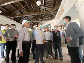 台南「西市場」修復完成 攤商明年農曆年前回歸營業