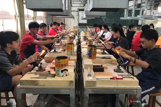 新竹市富禮國中琉璃美感藝術教育 打造學生升學之路