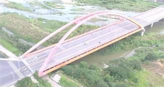 頭份大橋結構損害 維修期間將限制重車行駛