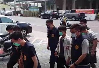 仁武槍擊案 3落網嫌犯否認開槍 警方持續追緝其他開槍歹徒