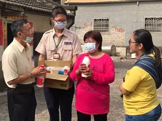 台南北門區公所攜手北門嶼基督教會 送愛偏鄉「鈣」溫暖
