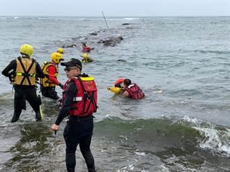 聖約翰女大生15小時受困礁岩2次 救護人員直搖頭:浪費資源