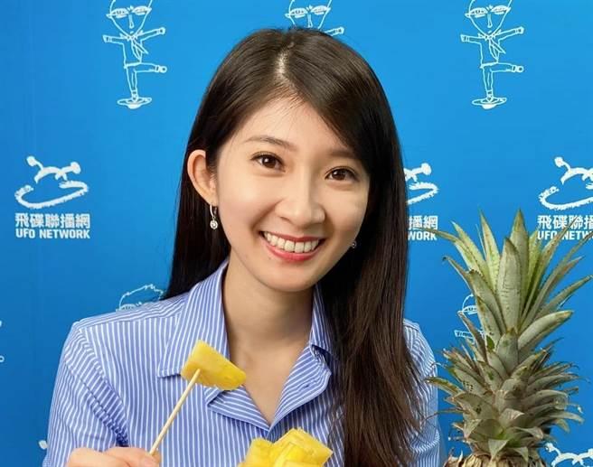 現任國民黨青年黨代表、飛碟聯播網「璇外之音」節目主持人 李明璇。(圖/翻攝自 李明璇 臉書)