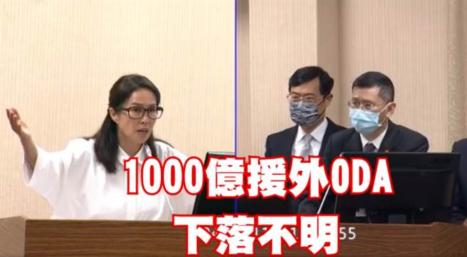 無黨籍立委高金素梅(左)、行政院經貿談判辦公室代表(右)。(圖/翻攝自高金素梅臉書)