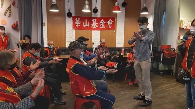 4月14日在米菲蔬食南崁店舉辦「蘆竹站10週年感恩茶會」。(姜霏翻攝)