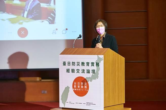 教育部劉文惠副司長指出,從臺灣的921到日本的311,臺日兩國長期在防減災的推展、災後互助與支援重建都有密切的交流,見證兩國深厚的情誼。