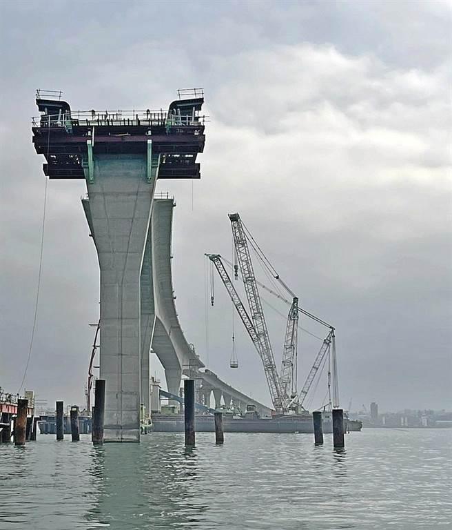 金門大橋未來完工通車後,金寧鄉將成為全島交通樞紐。(李金生攝)