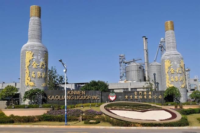 金酒總公司坐落於金寧鄉,也是全島重要的地標之一。(李金生攝)