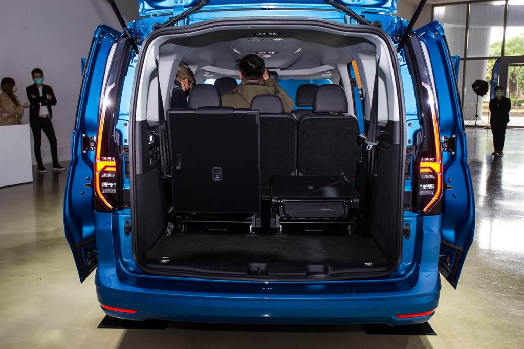 福斯商旅The All-New Caddy Maxi 128.8萬元預售開跑