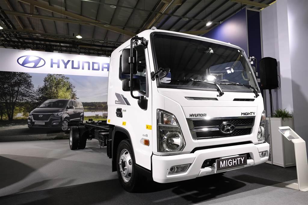 HYUNDAI現代商車布局新經銷體系,導入全新重車。(圖為7.8噸Mighty)