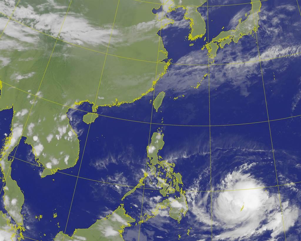 氣象局表示,周六(17日)起又會受到東北季風影響,且到下周二(20日)前的水氣都偏少,北台灣屬於乾冷的天氣。(氣象局提供)