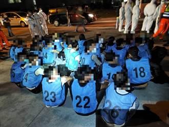 換船長再犯案 人蛇漁船載26名越南偷渡客搶灘高雄外海遭攔