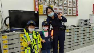 幼兒參訪派出所 警察哥哥姐姐小故事宣導
