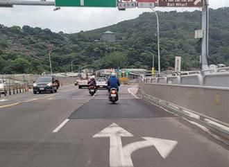 關渡大橋多處補丁事故頻傳 交通部:階段性工程