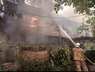 已鬧水荒火神卻頻光顧 彰化住宅火警烈焰狂燒