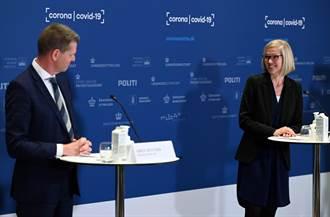 影》AZ疫苗記者會 丹麥女官員「重摔倒地」嚇壞所有人