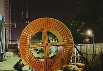 廠商施工挖斷南科電纜 台電抽換305公尺長電纜穩定供電