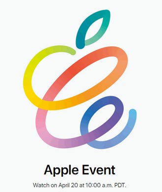 苹果春季发表会 来了