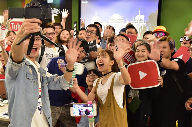 YouTube 長期提供多元資源培育台灣影音創作人才。(Google提供/黃慧雯台北傳真)