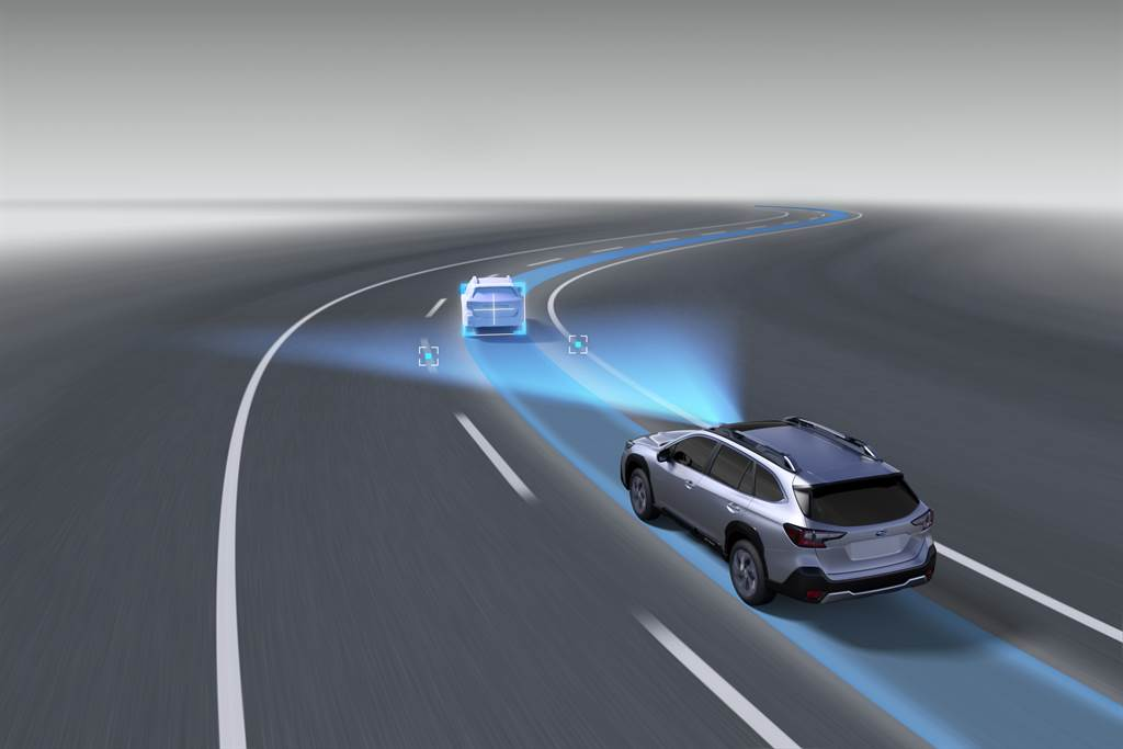 Eyesight 4.0系統新增LCF車道維持置中系統、LDP車道偏離輔助系統與AES緊急自動轉向輔助系統三大全新功能。