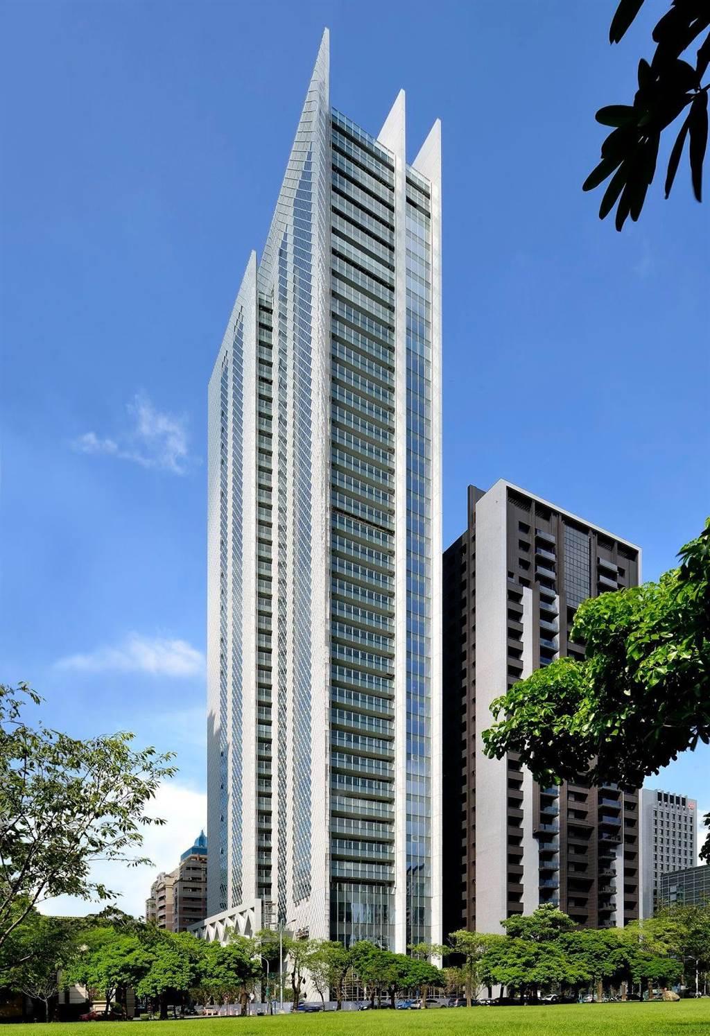 大陸建設請來寶格麗飯店御用義大利建築大師 Antonio Citterio 團隊(ACPV) 設計「宝格」,打造國際級視野美學。(業者提供)