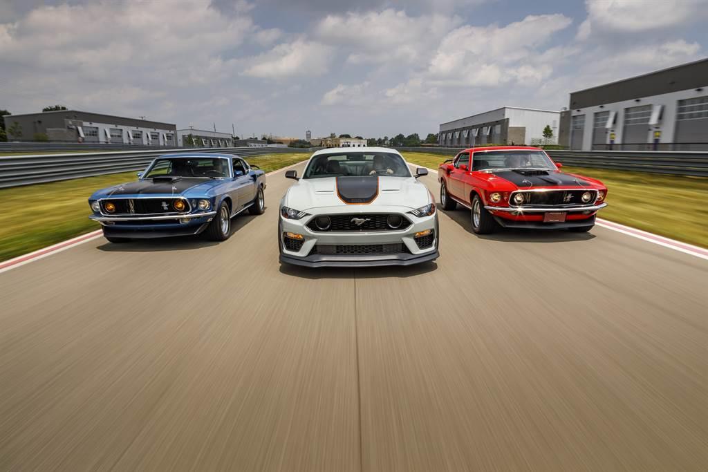 Ford Mustang為全球雙門跑車銷售冠軍六連霸,在2021年歡慶實至名歸的榮耀57周年。