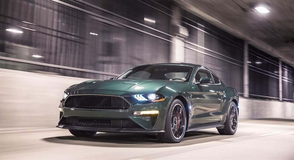 重現經典的Bullitt車型為Mustang車系的高性能版本之一,在2020年創下52.7%的成長。