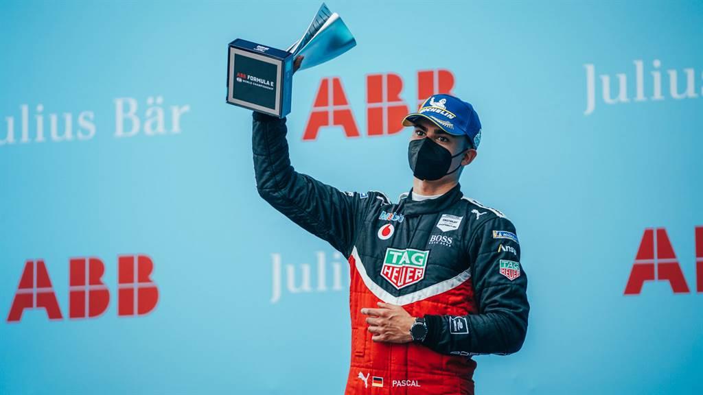 Pascal Wehrlein上周日在羅馬E-Prix大賽上戰勝強勁對手,成功站上頒獎台。