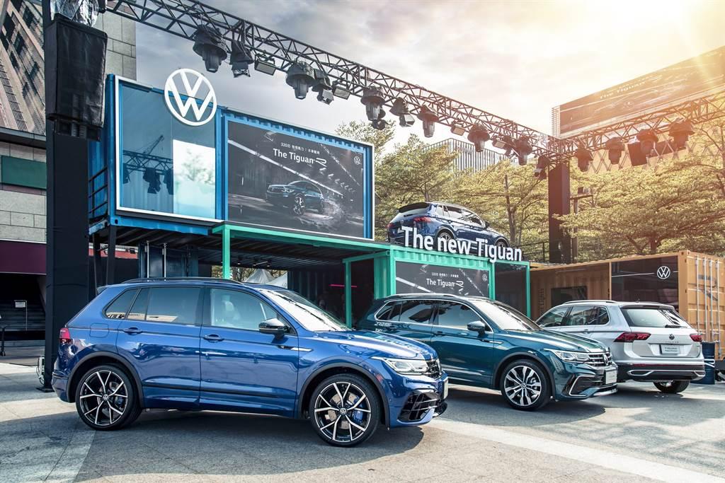 Tiguan全車系共5車型,109.8萬至202.8萬大範圍售價區間帶,滿足國內消費者購車預算和用車需求。