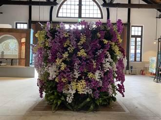 入園就送花 水道博物館周末贈限量蘭展蘭花