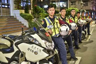 热心企业赠警用装备 土城分局化身为「科技战警」