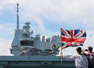 英航艦女王號5月首航 傳避台灣海峽以免激怒北京