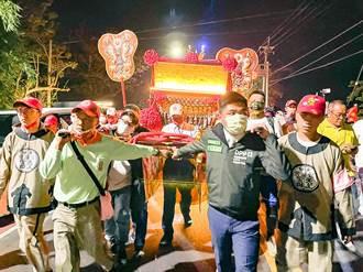 民進黨新竹市黨部參與大甲媽遶境 為台灣、新竹祈福