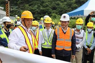 清水隧道通過安全檢測 林佳龍宣布通車日提早一天
