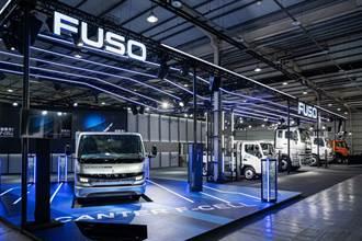 商用車巨星海外首站亮相! 台中商車展FUSO eCANTER F-CELL、ATHENA概念車重磅登台