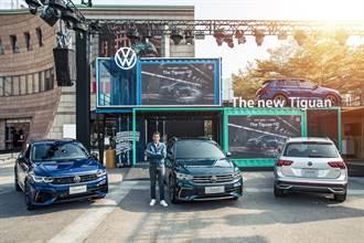 歐洲銷售冠軍SUV VW Tiguan全車系登場 性能R休旅同步現身